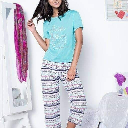 Rise and Shine Capri Pyjama Set