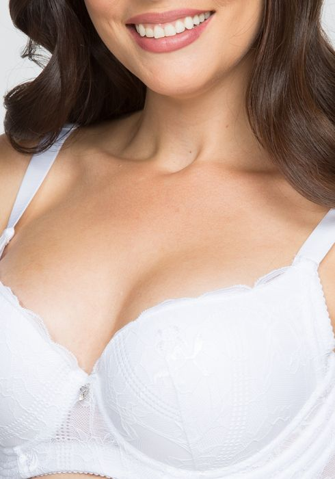 Push Bra With Lace Details