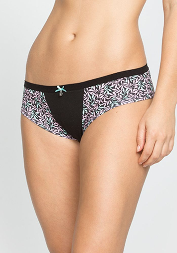 Printed Stretch Cotton Panty