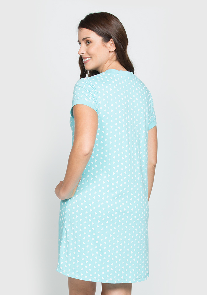 Stretch Cotton Sleepshirt