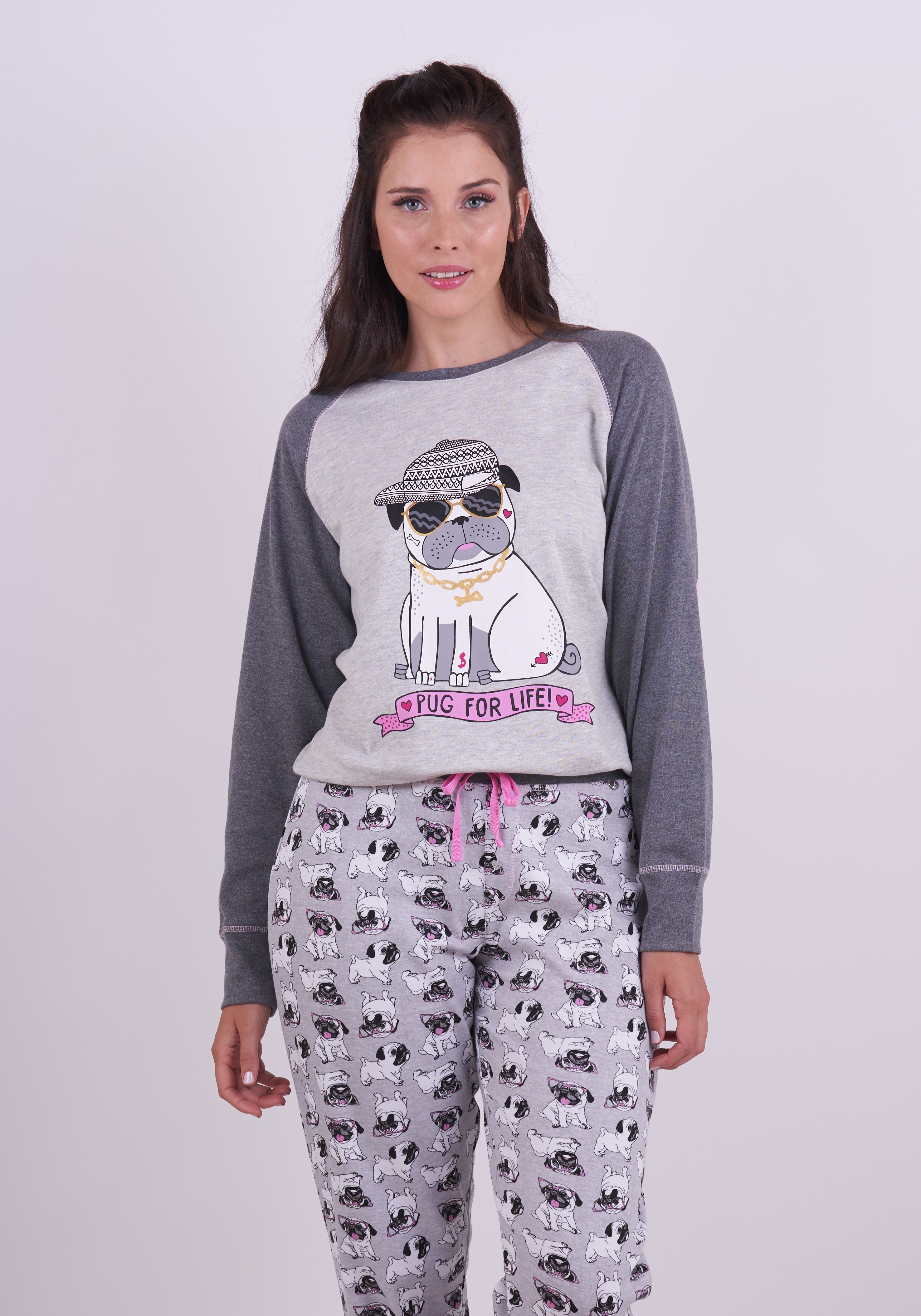 Pug for Life Pyjamas Set