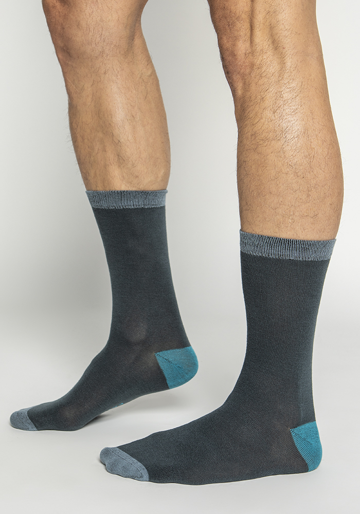 Multi-colored Bamboo Socks (3 pairs)