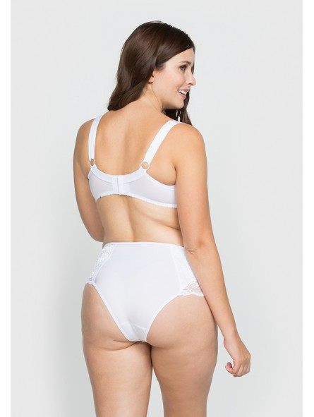 High Rise Panty With Lace Detail