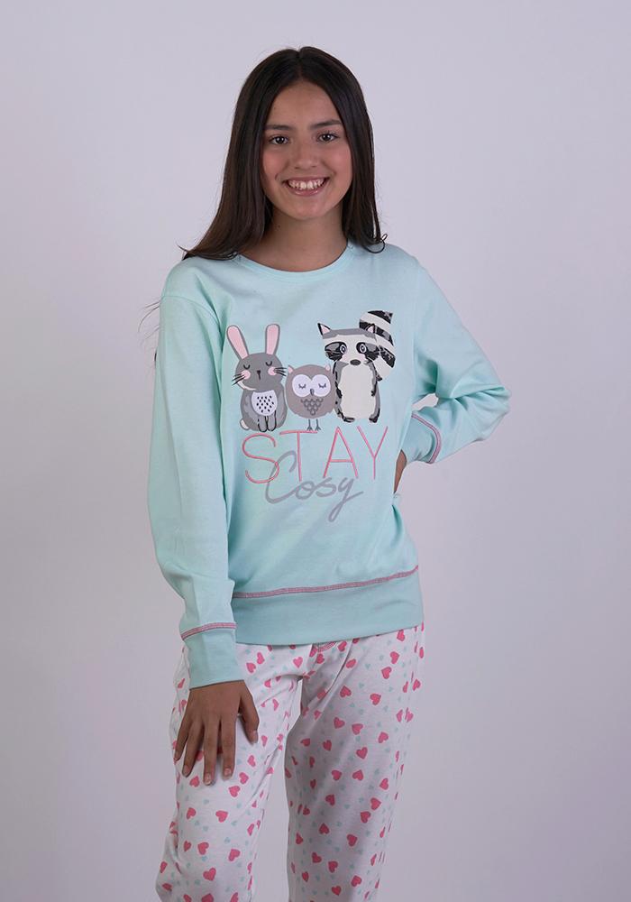 Stay Cosy Pyjamas Set