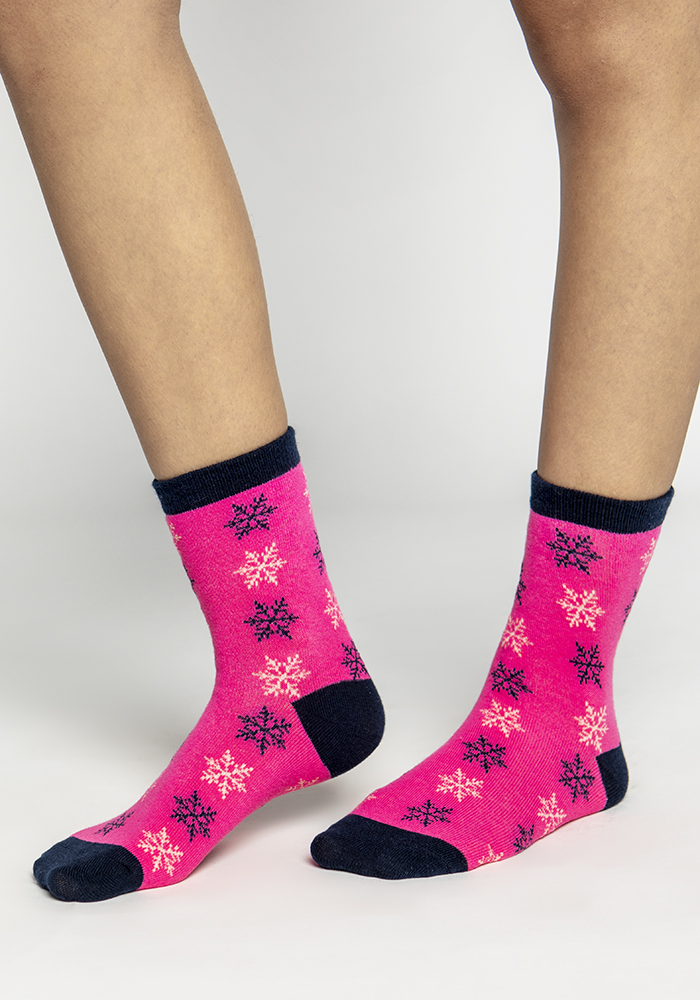 Multi-colored Stretch Cotton Socks (2 pairs)