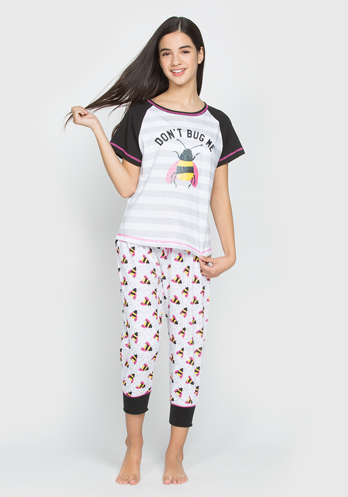 Don't Bug Me Pyjama Set For Kids