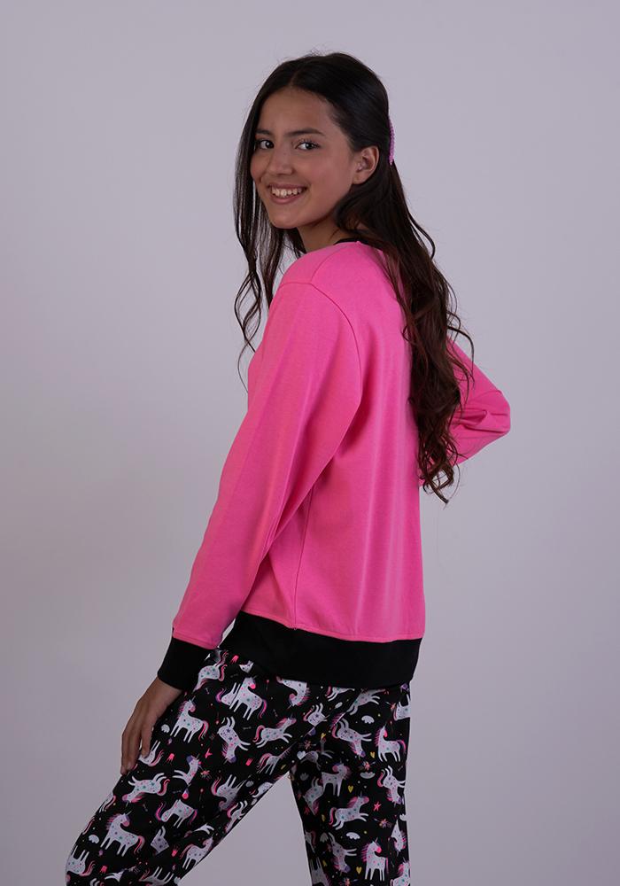 You Are Loved Pyjamas Set With Unicorn Print
