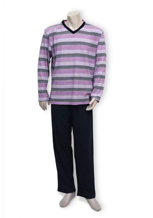 Pyjama Pants Set In Long Sleeve