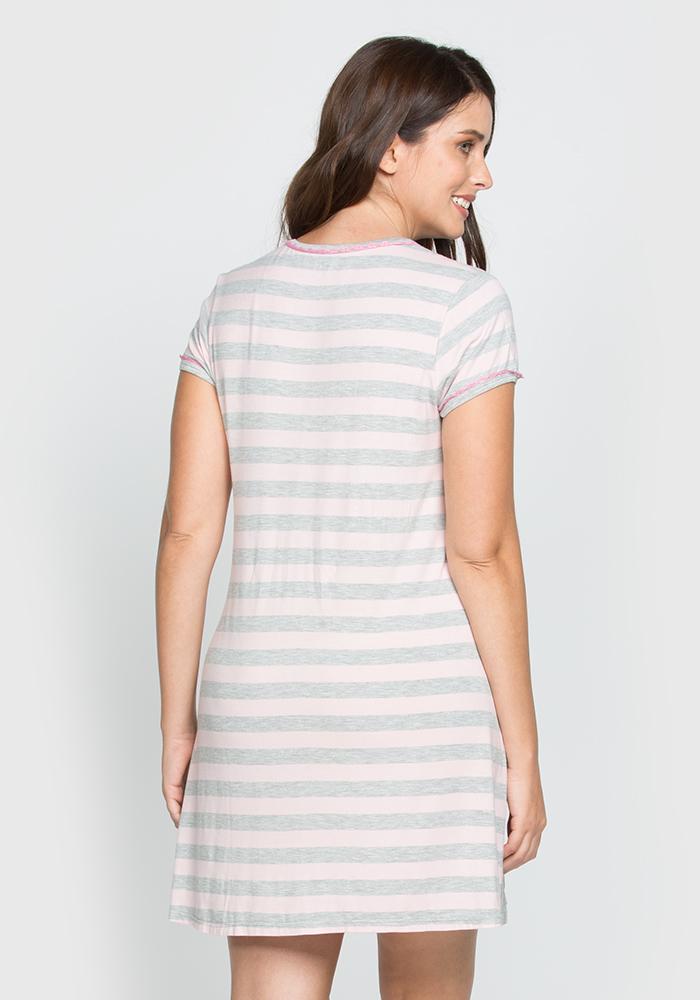 Short Sleeve Viscose SleepShirt