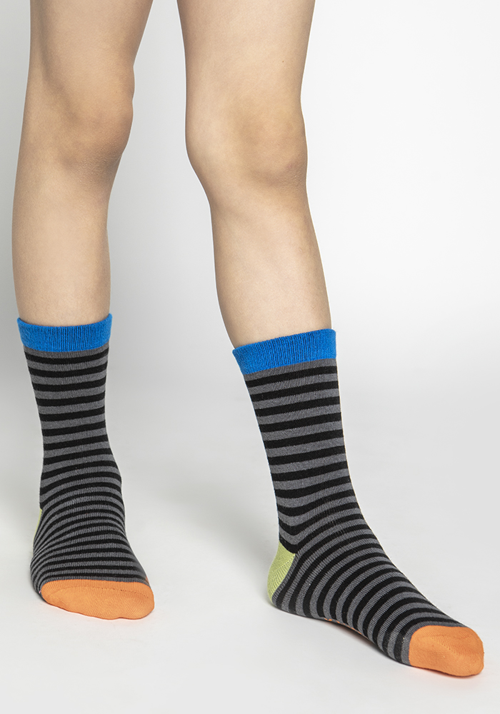 Multi-colored Stretch Cotton Socks (5pairs)