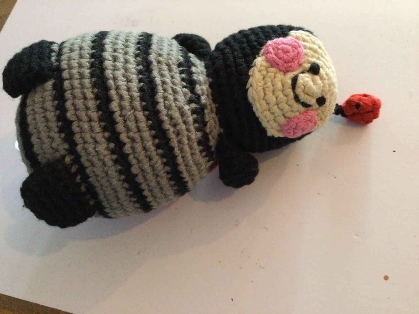 Pebble - Crochet Ladybird Rattle