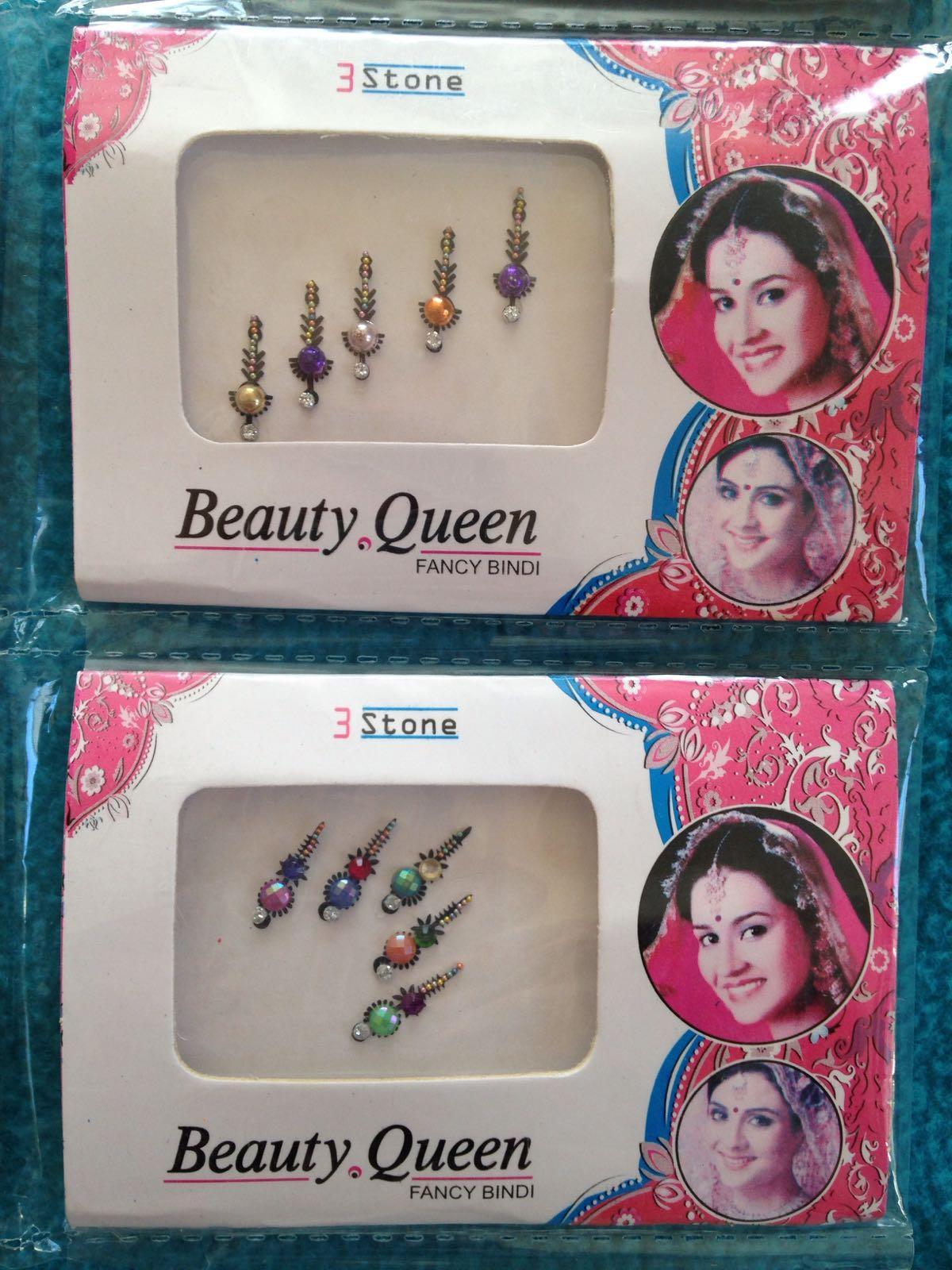Indisk skjønnhet - Bindi - Beauty Queen