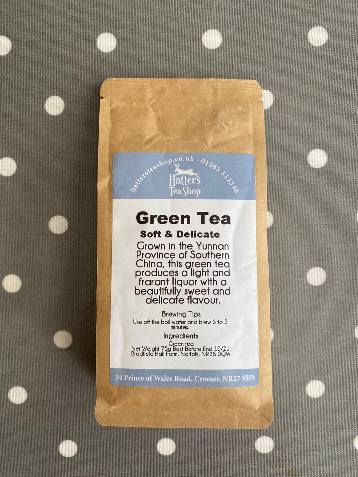 Hatters Loose Leaf Tea - Green Tea