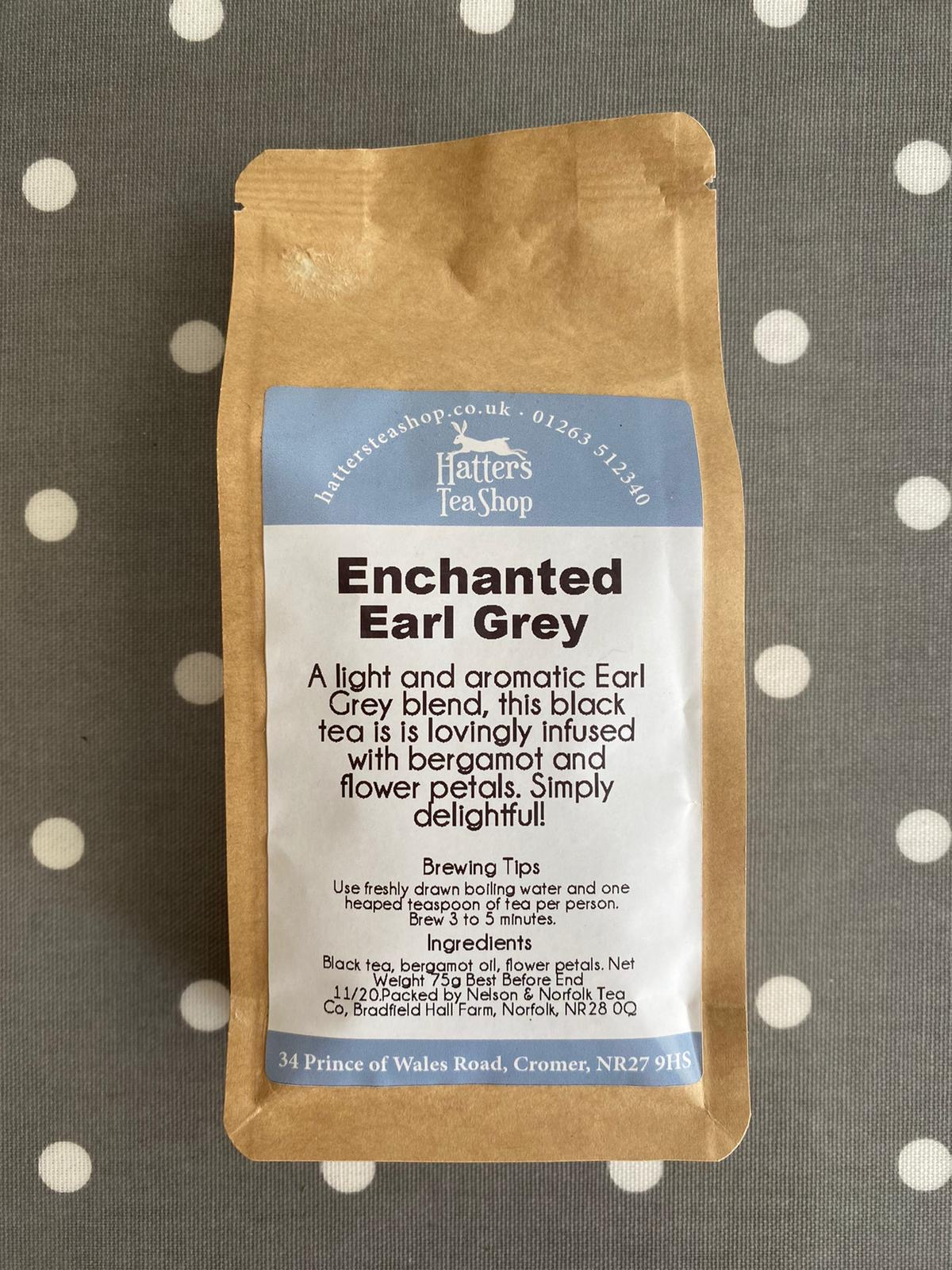 Hatters Loose Leaf Tea - Enchanted Earl Grey