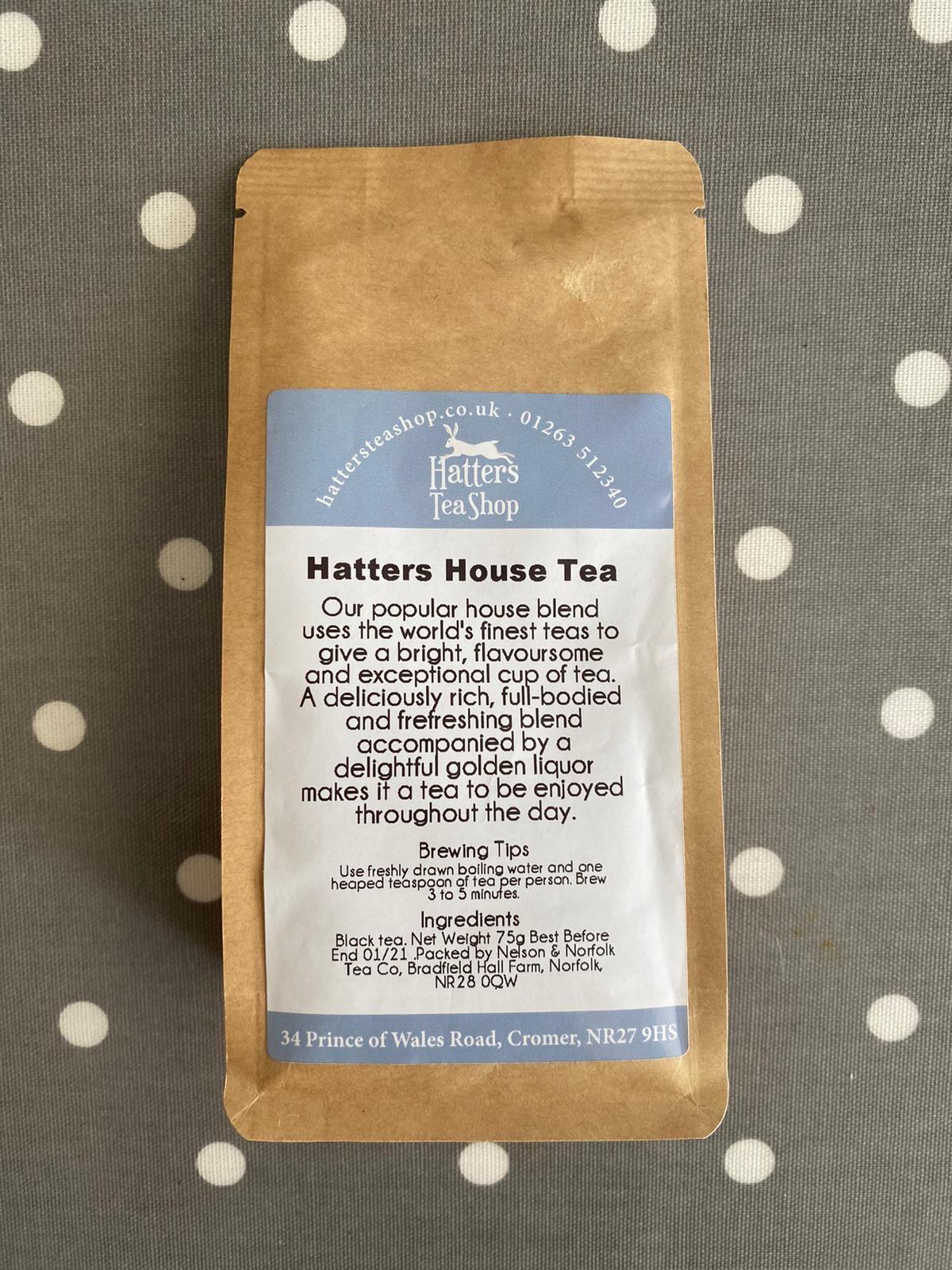 Hatters Loose Leaf Tea - House Tea