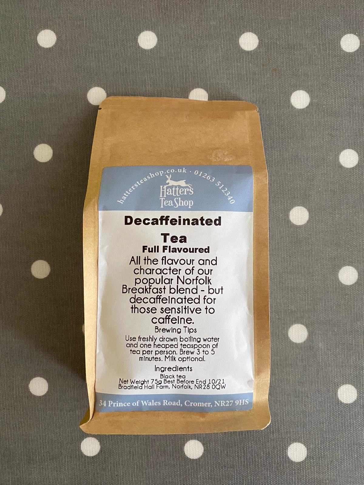Hatters Loose Leaf Tea - Decaffeinated Tea