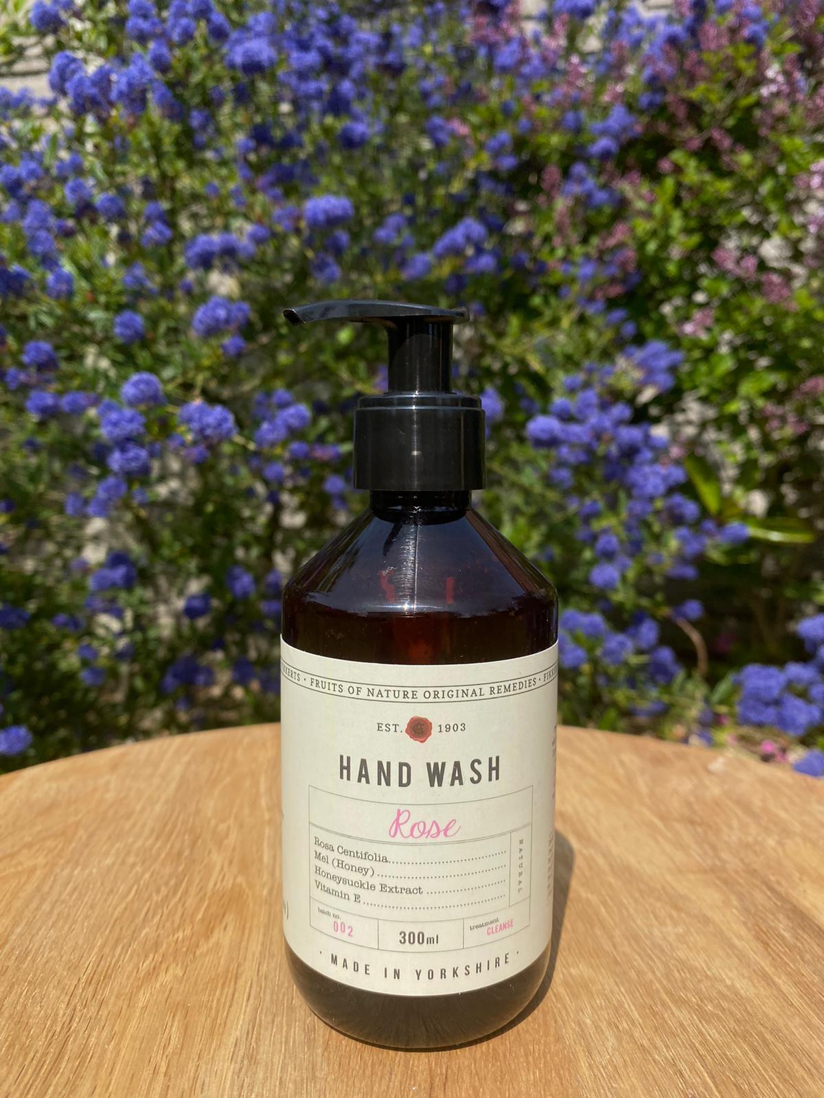 Fikkerts Hand Wash - Rose
