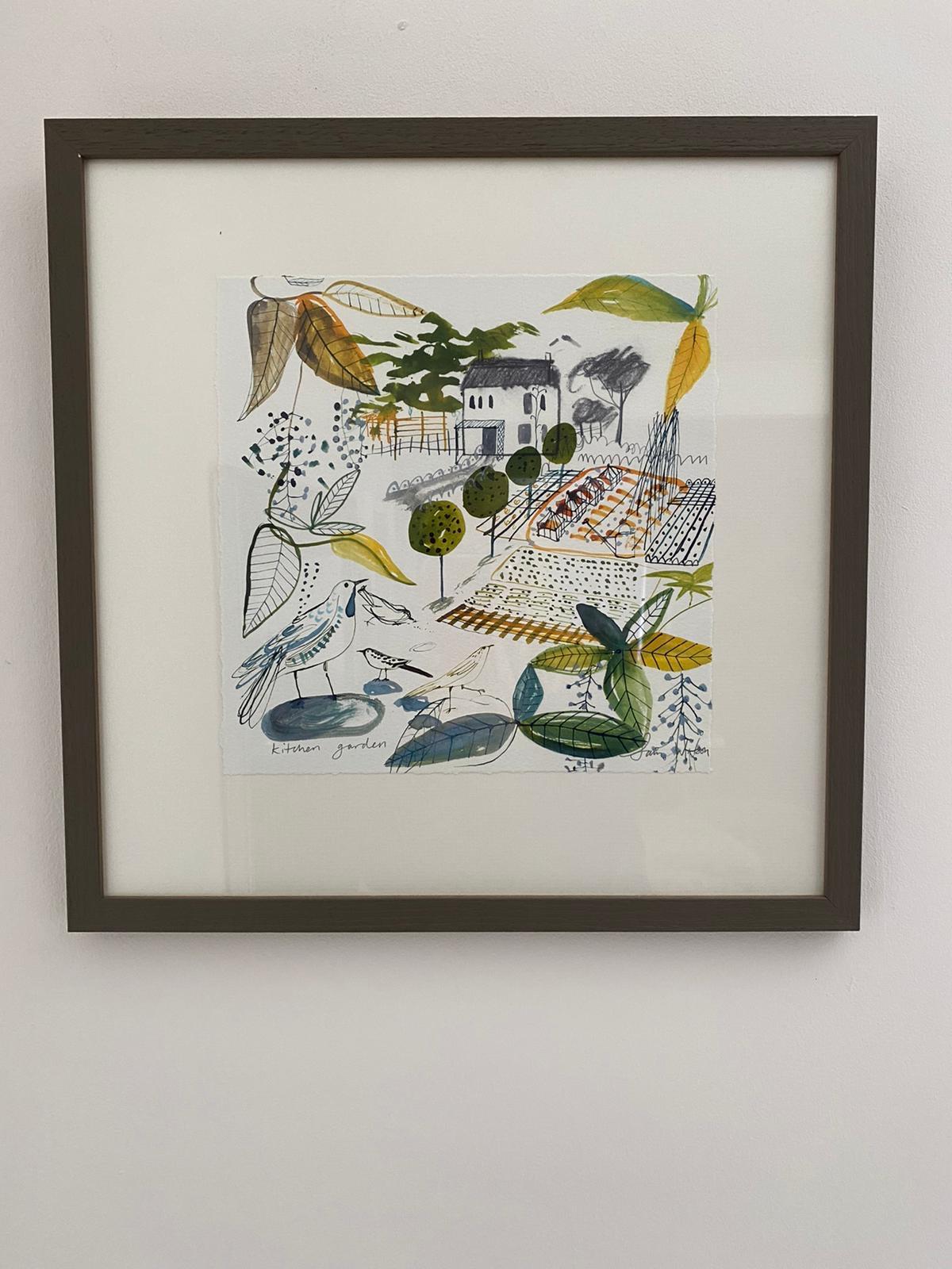 Sam Wilson Illustrations - Kitchen Garden