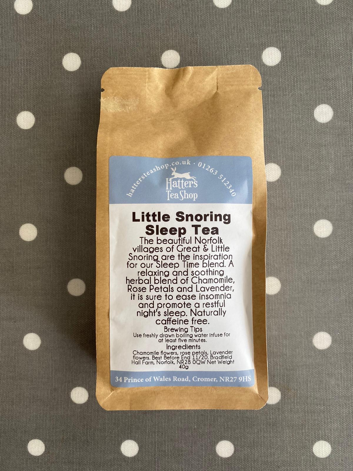 Hatters Loose Leaf Tea - Little Snoring Sleep Tea