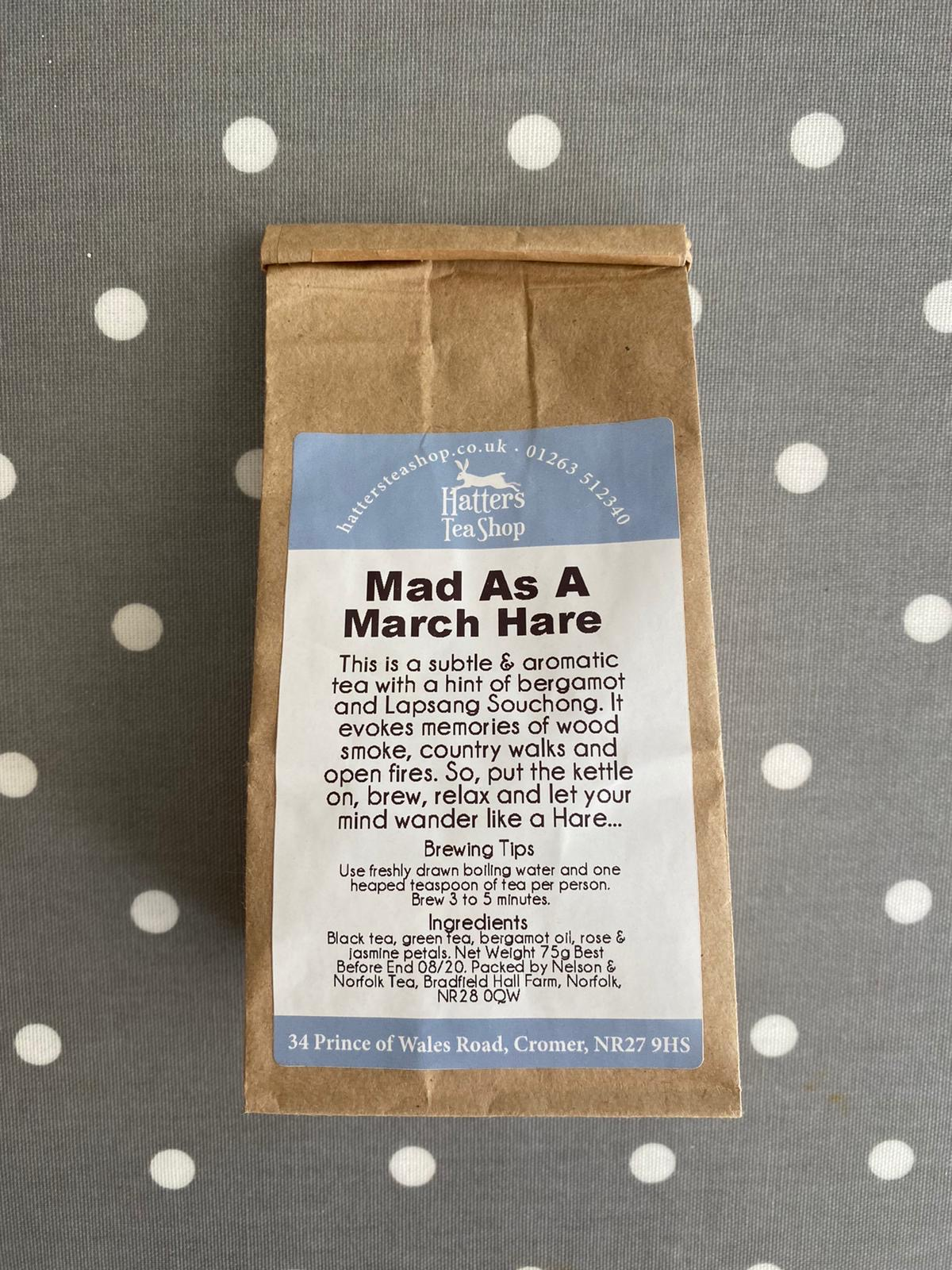 Hatters Loose Leaf Tea - Mad as a March Hare