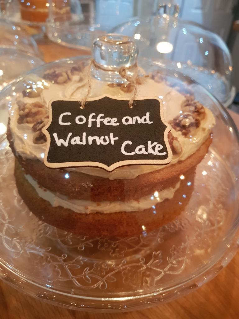 A Whole Cake - Coffee and Walnut