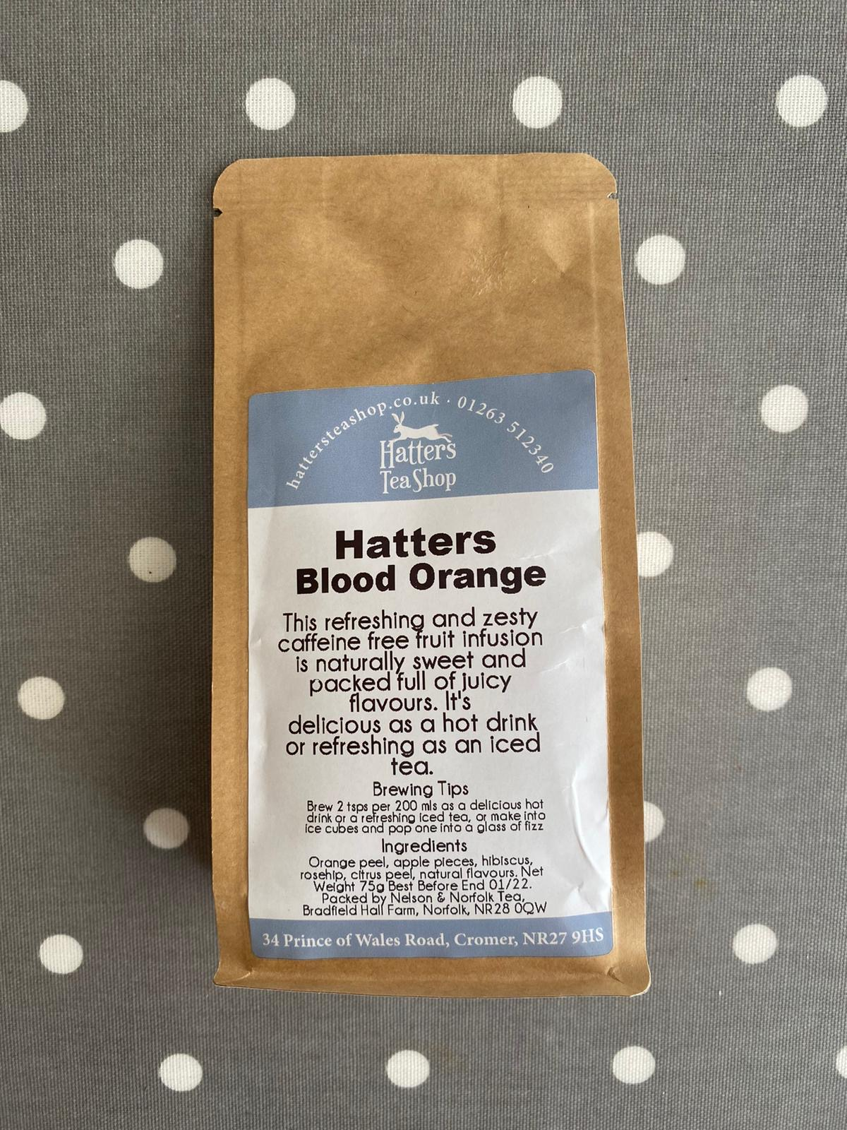Hatters Loose Leaf Tea - Blood Orange