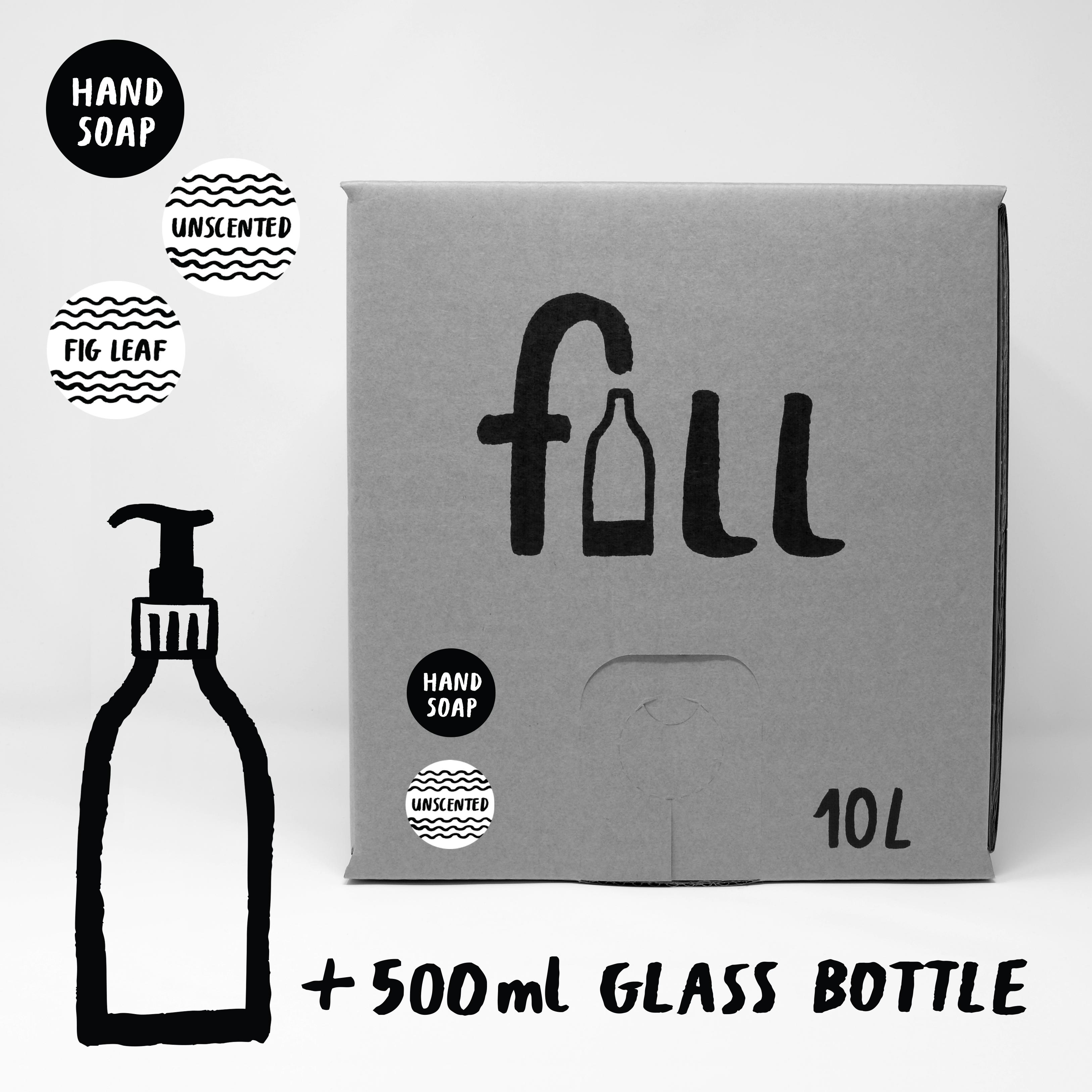 DO NOT USE Fill Refill Co Hand Soap 500ml Full Bottle