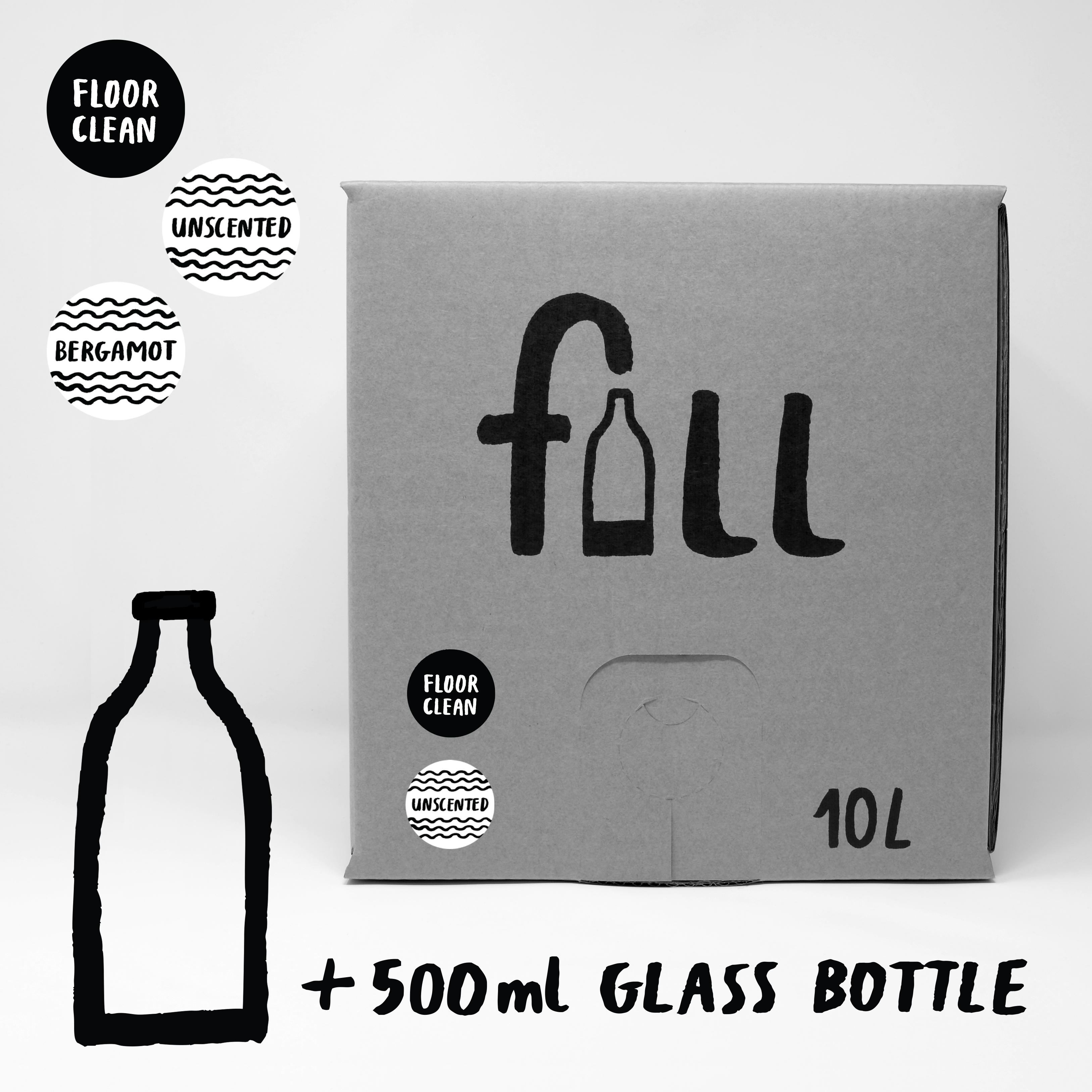 DO NOT USE Fill Refill Co Floor Clean 500ml Full Bottle