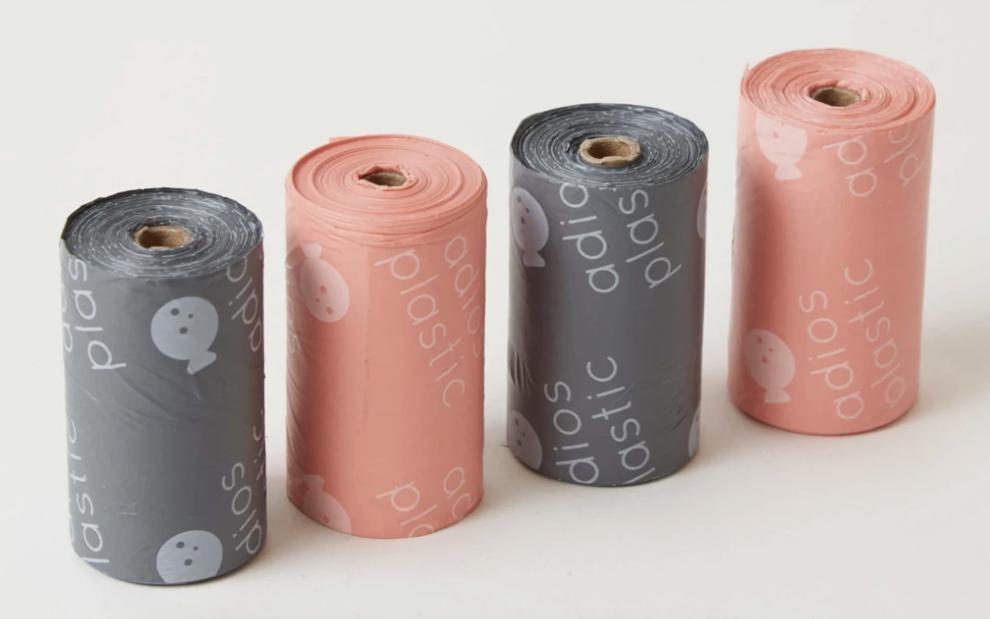 Adios Plastic Home Compostable Dog Poo Bags