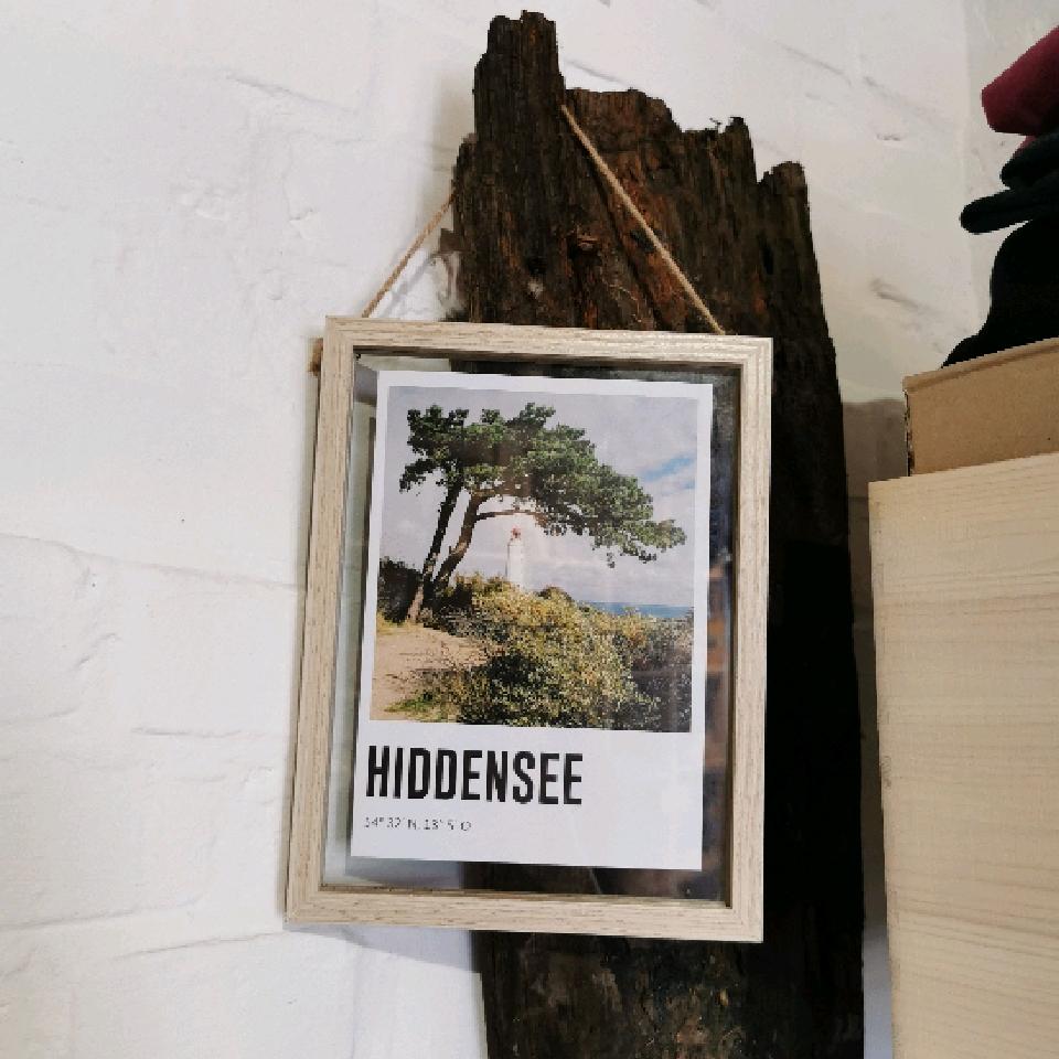 Lomoherz - Hiddensee A5 im Rahmen