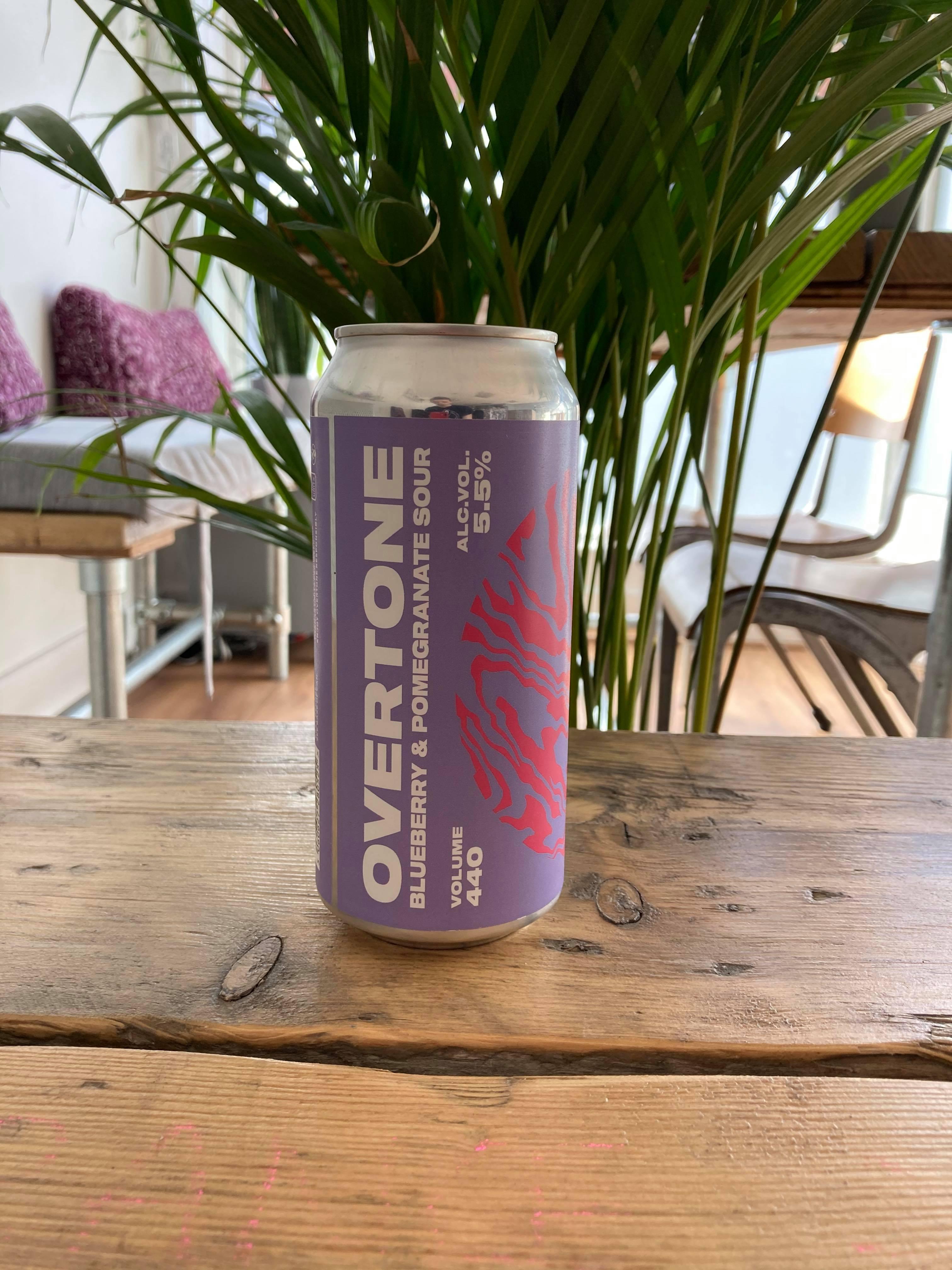 Overtone - Blueberry & Pomegranate Sour 5.5%