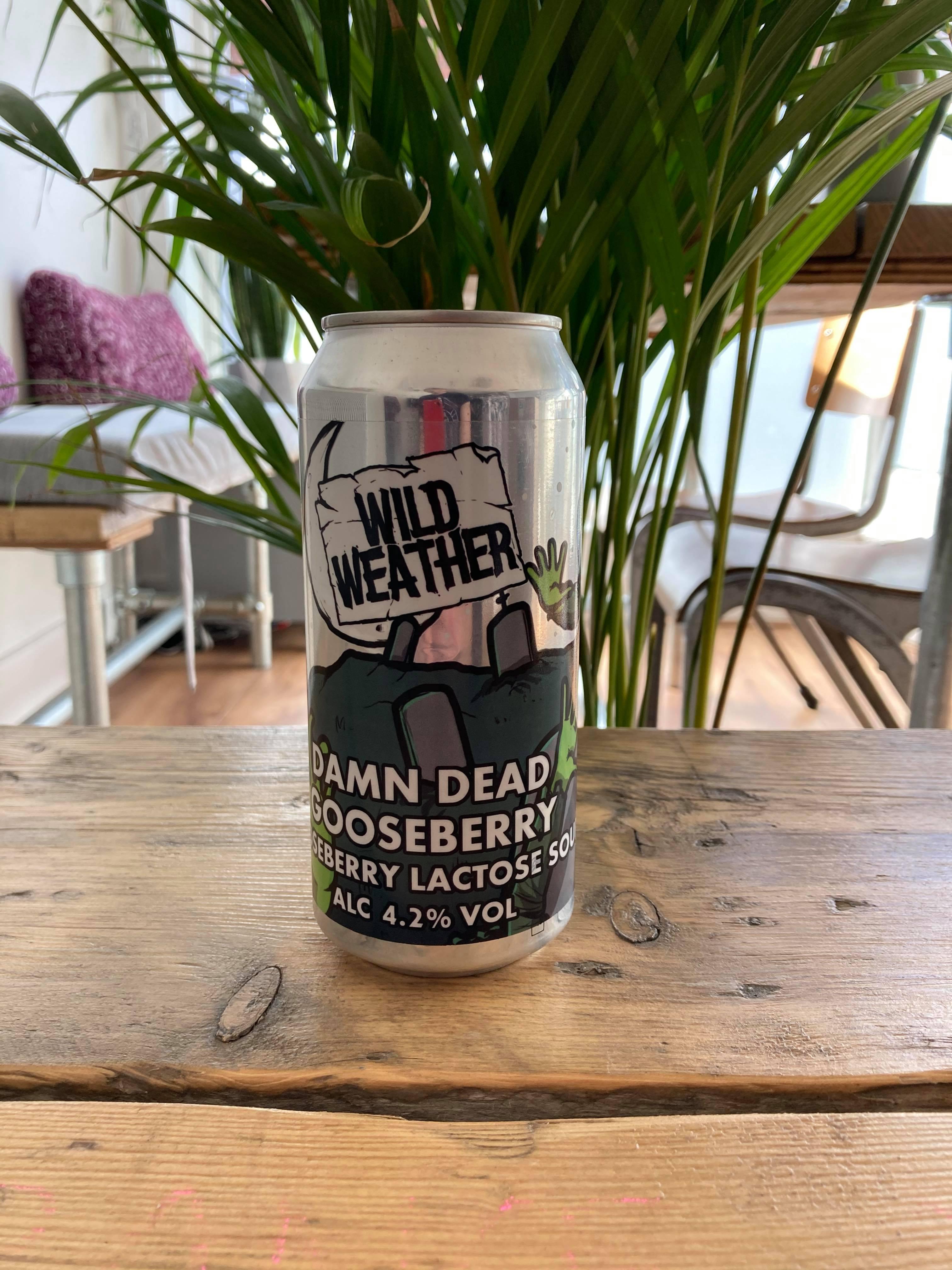 Wild Weather - Damn Dead Goseberry 4.2%