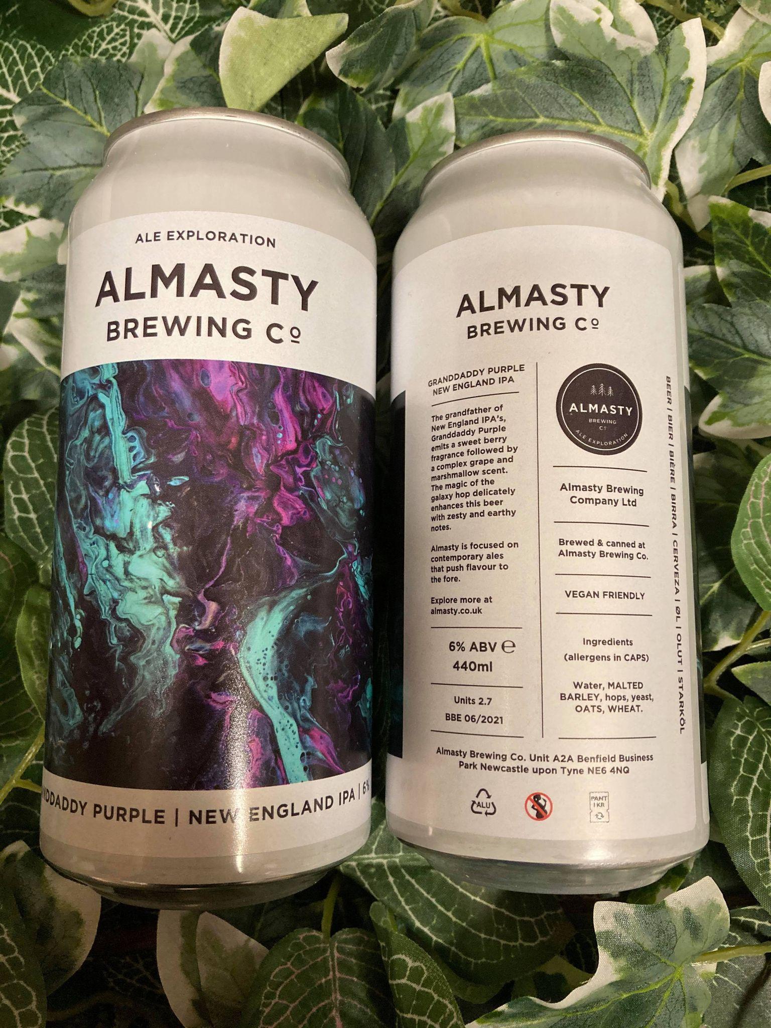 Almasty - Grandaddy Purple 6%