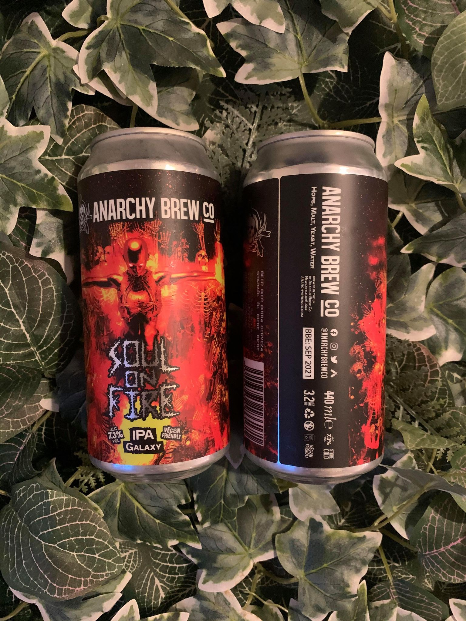 Anarchy - Soul On Fire 6.5%