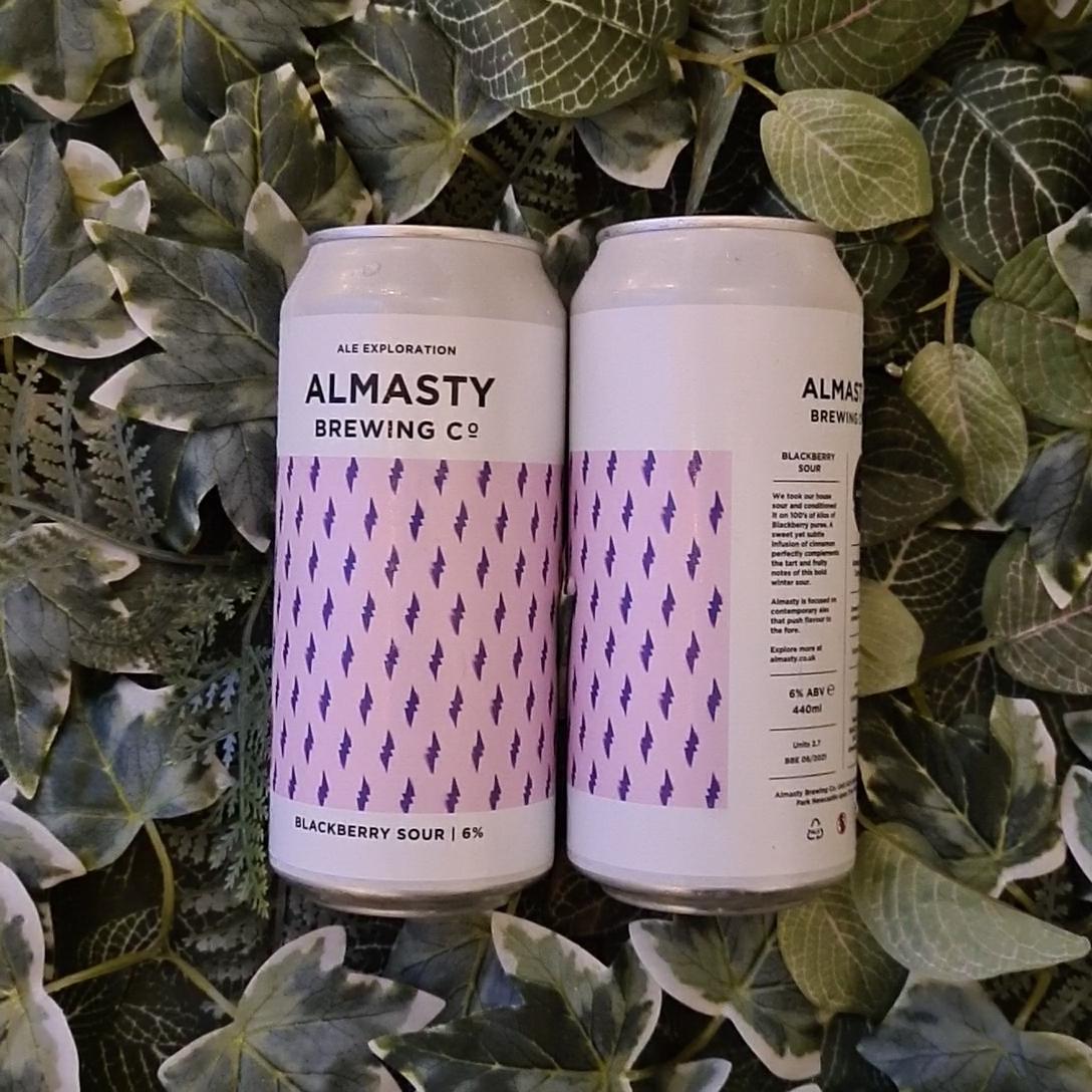 Almasty - Blackberry Sour 6%