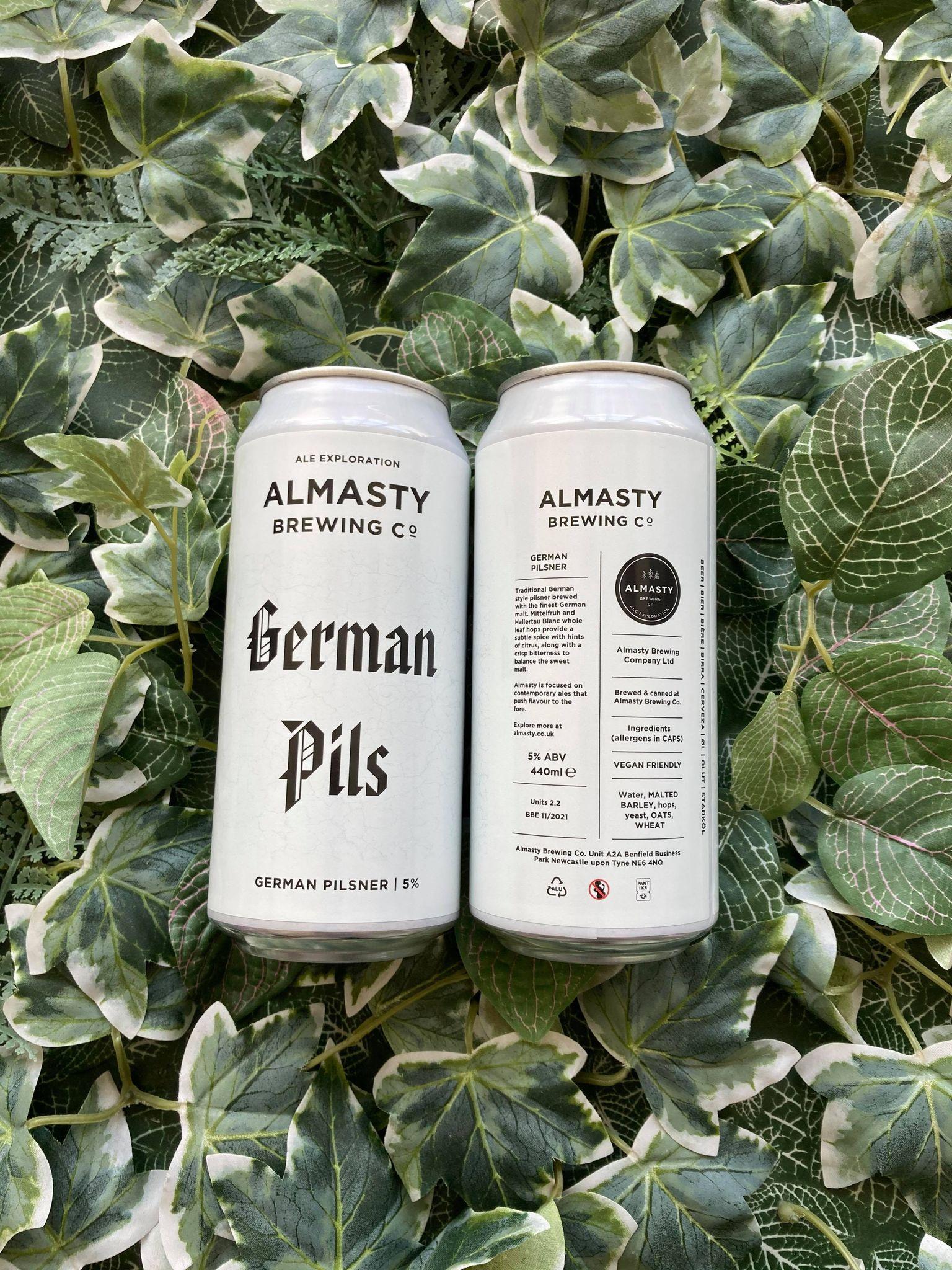Almasty - German Pils 5%