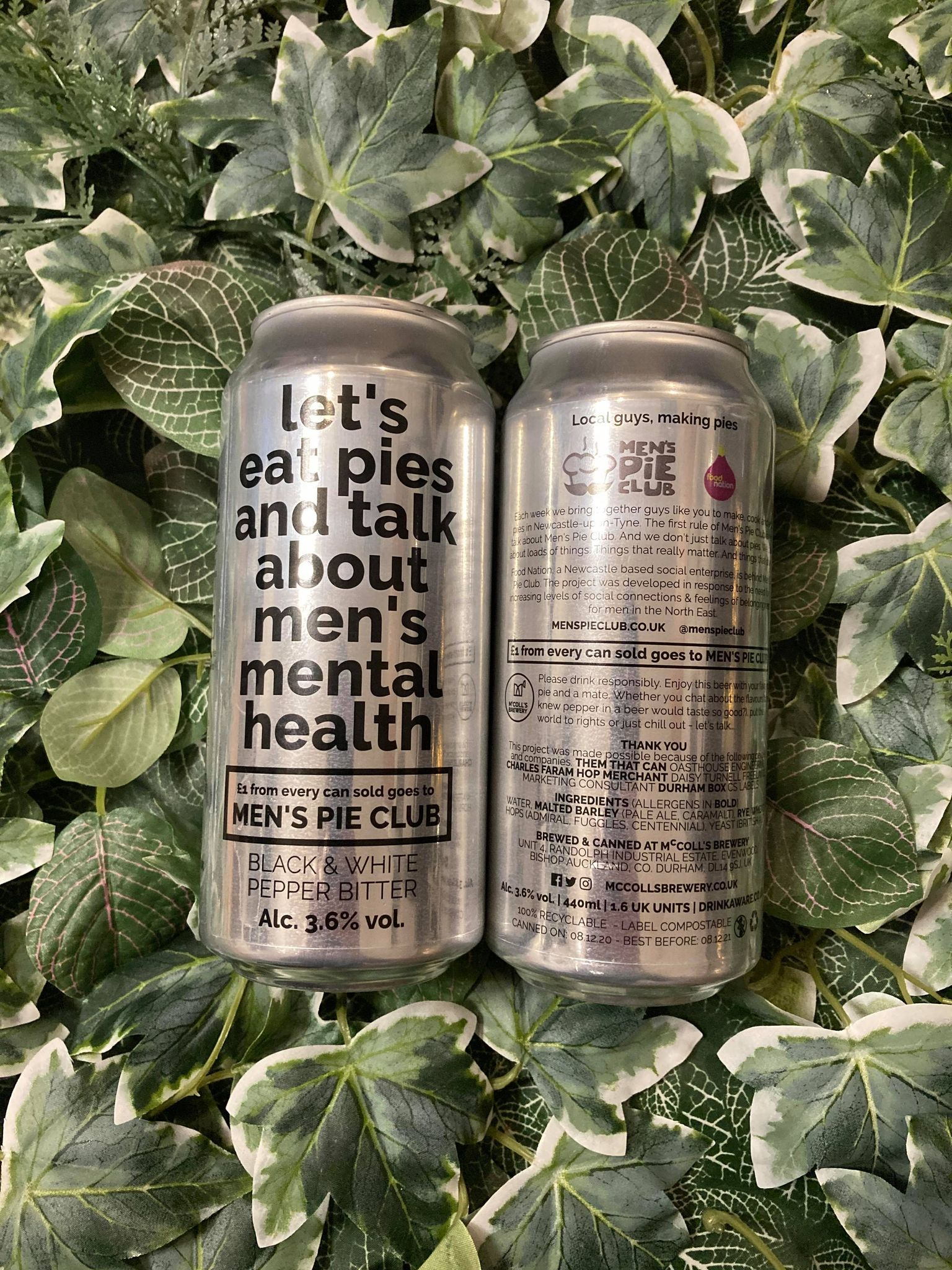 McColls - Let's eat pies and talk about men's mental health 3.6%