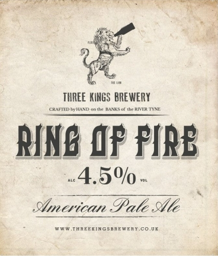 Three Kings - Ring Of Fire 4.5% 500ml