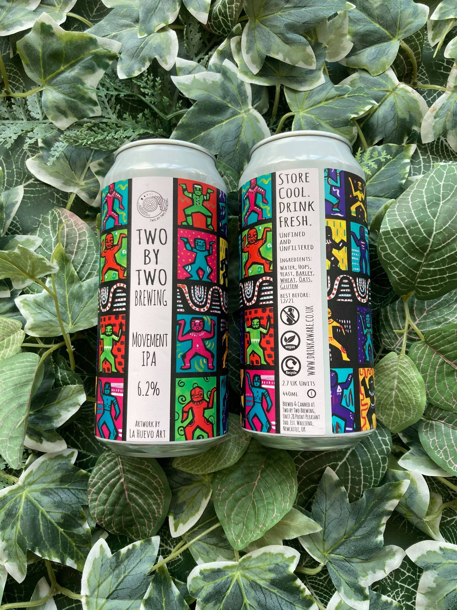 Two By Two - Movement IPA 6.2%