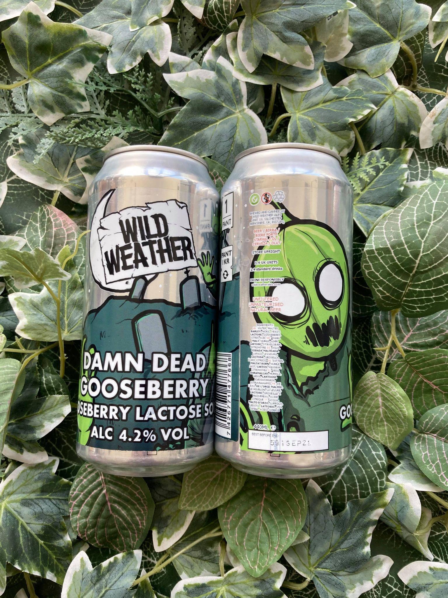 Wild Weather - Damn Dead Gooseberry 4.2%