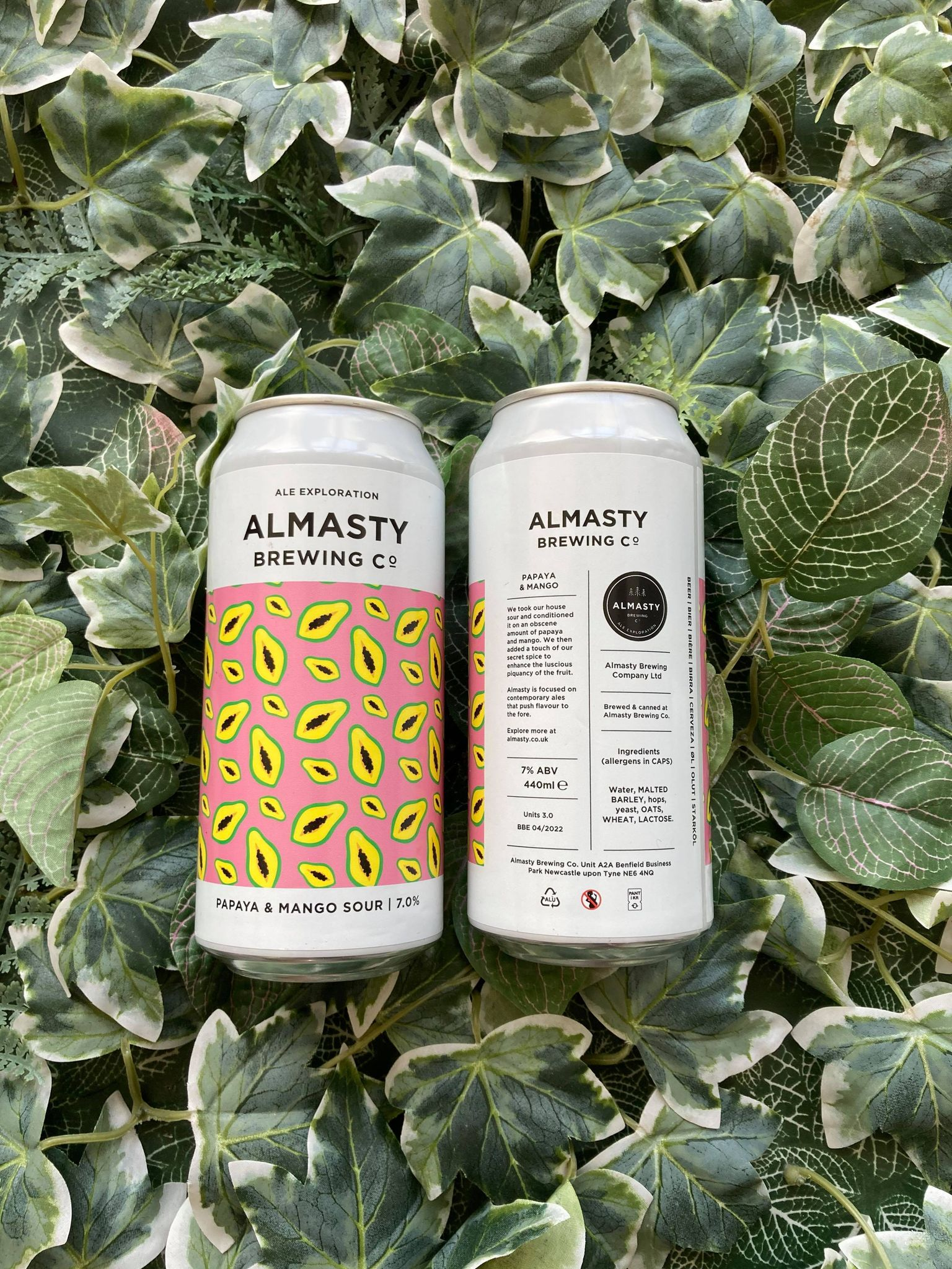 Almasty - Mango & Papaya Sour 7%