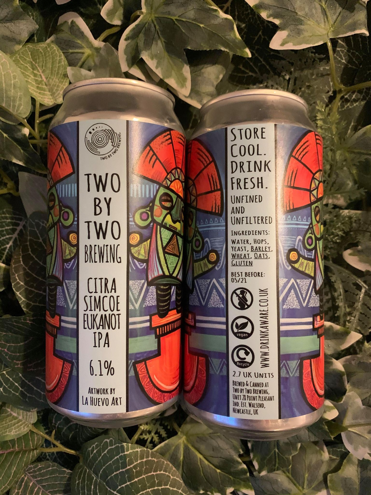 Two By Two - Citra Simcoe IPA 6.1%
