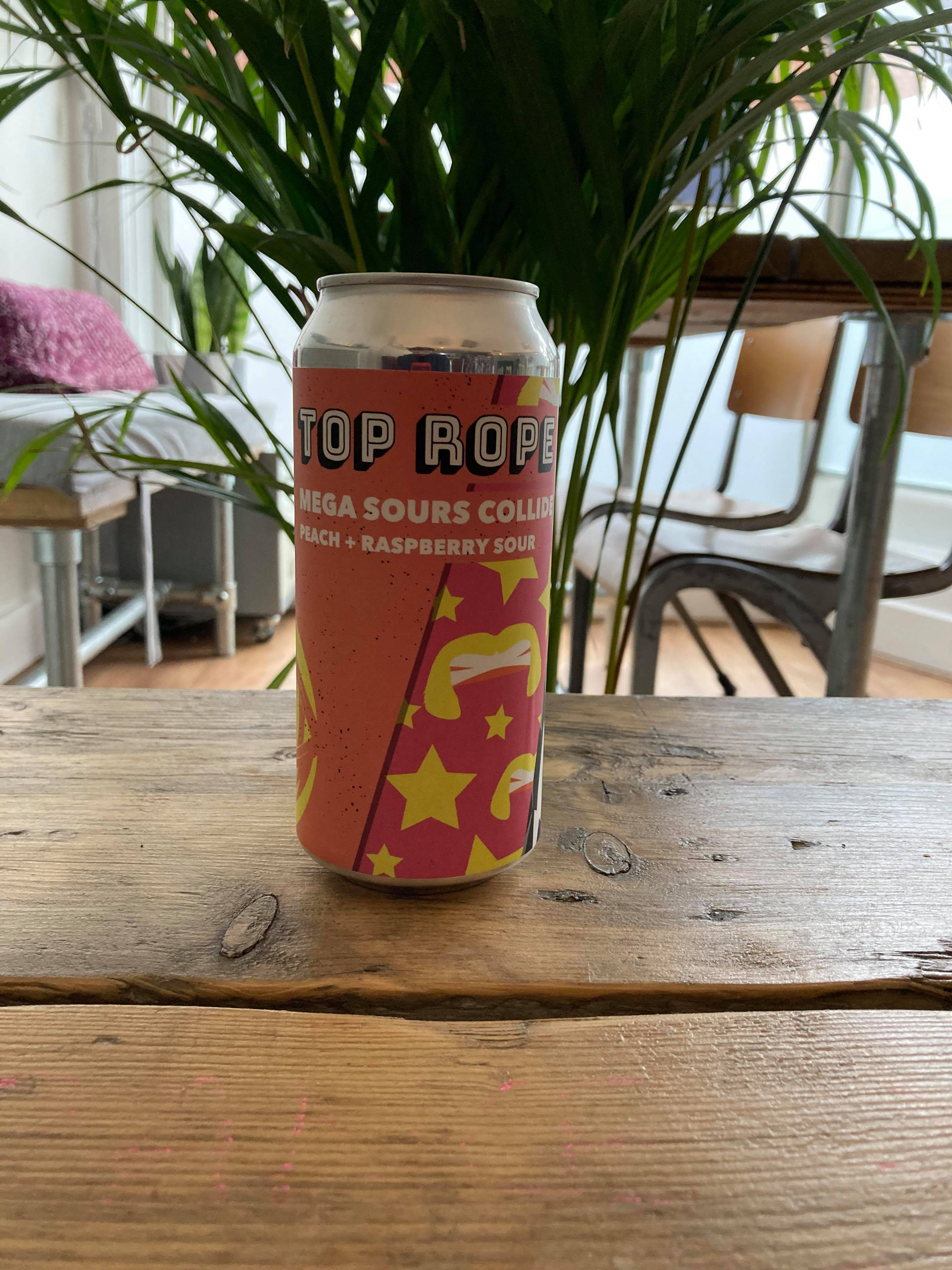 Top Rope - Mega Sours Collide 3.9%