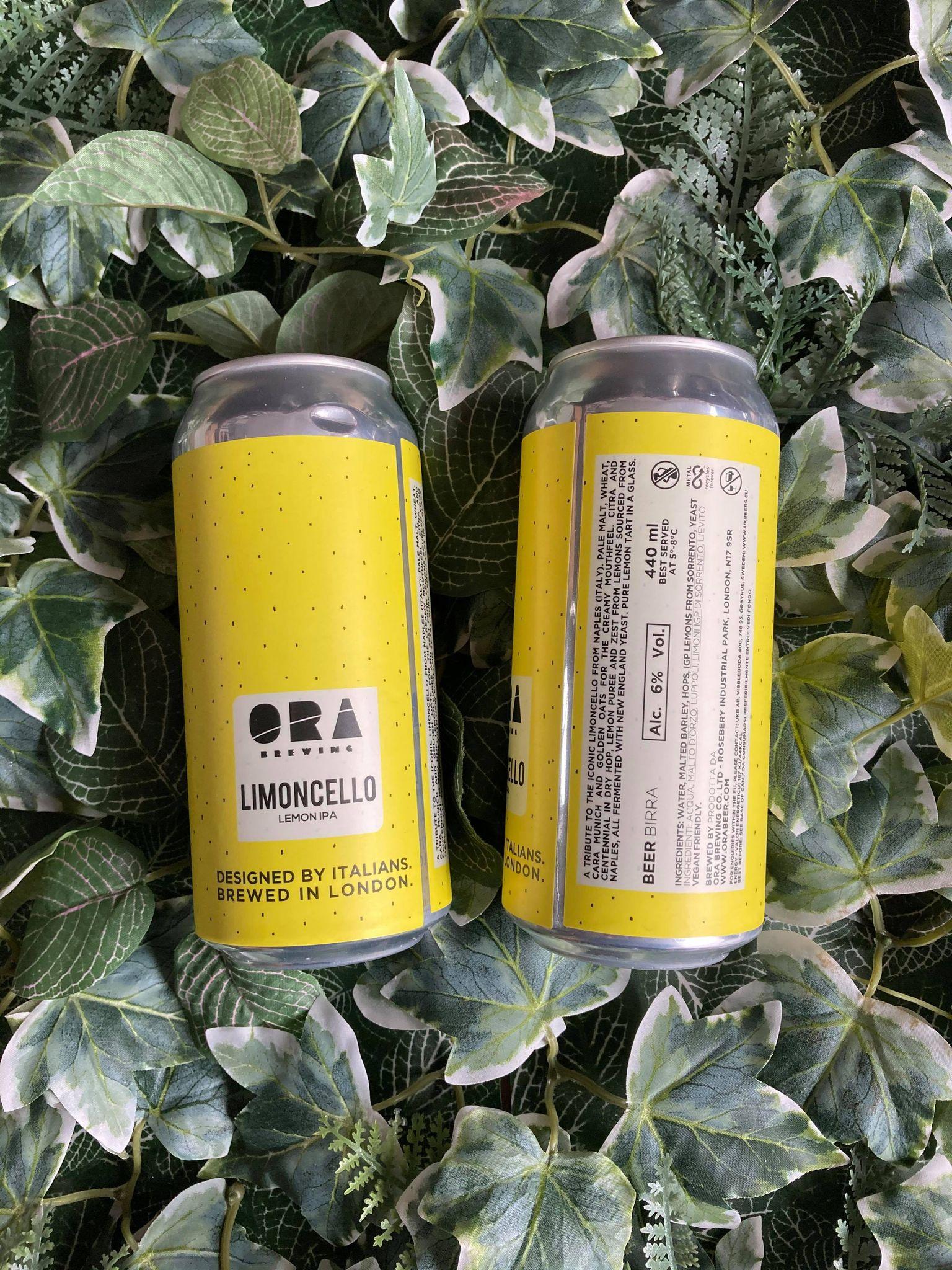 ORA -  Limoncello IPA 6%