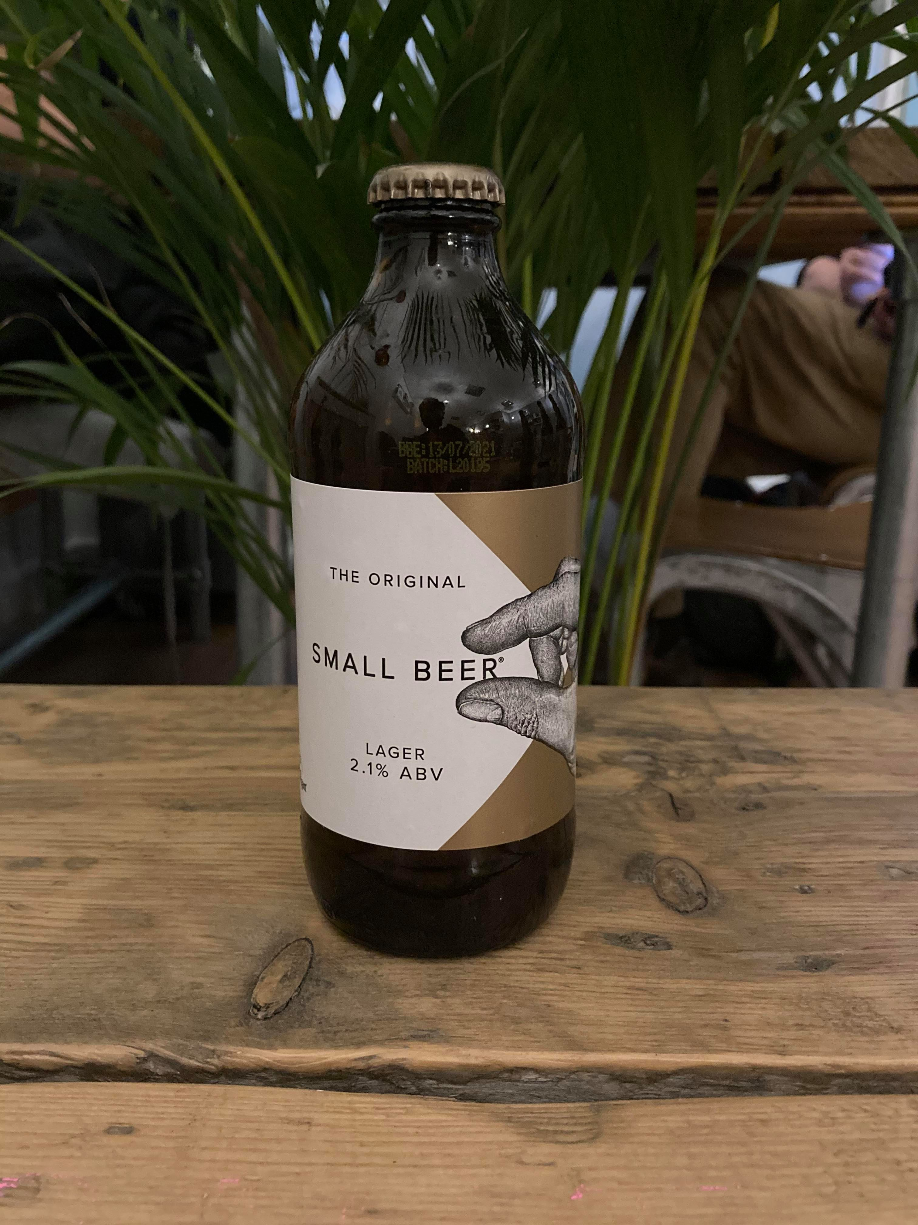 Small Beer - Lager 2.1% (GF)