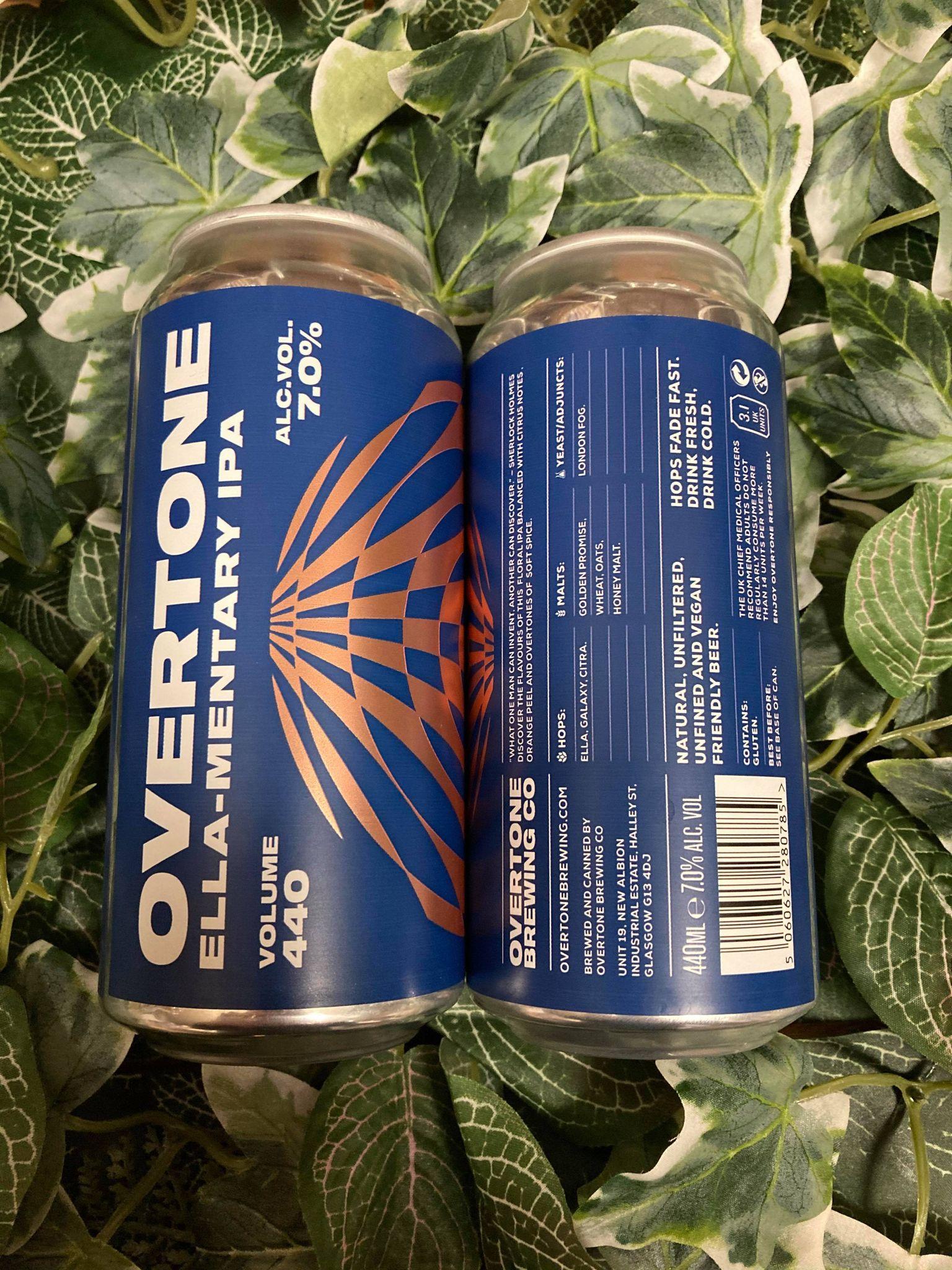 Overtone - Ella-Mentary 7%