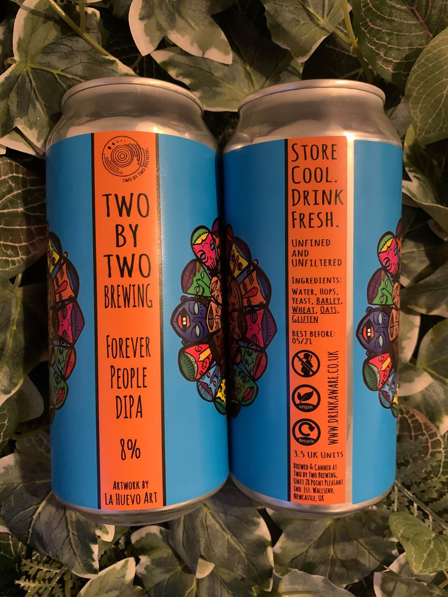 *20% OFF*Two By Two - Forever People DIPA 8%