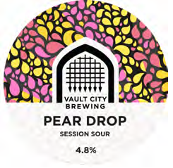 Vault City - Pear Drop Session Sour 4.8% 500ml