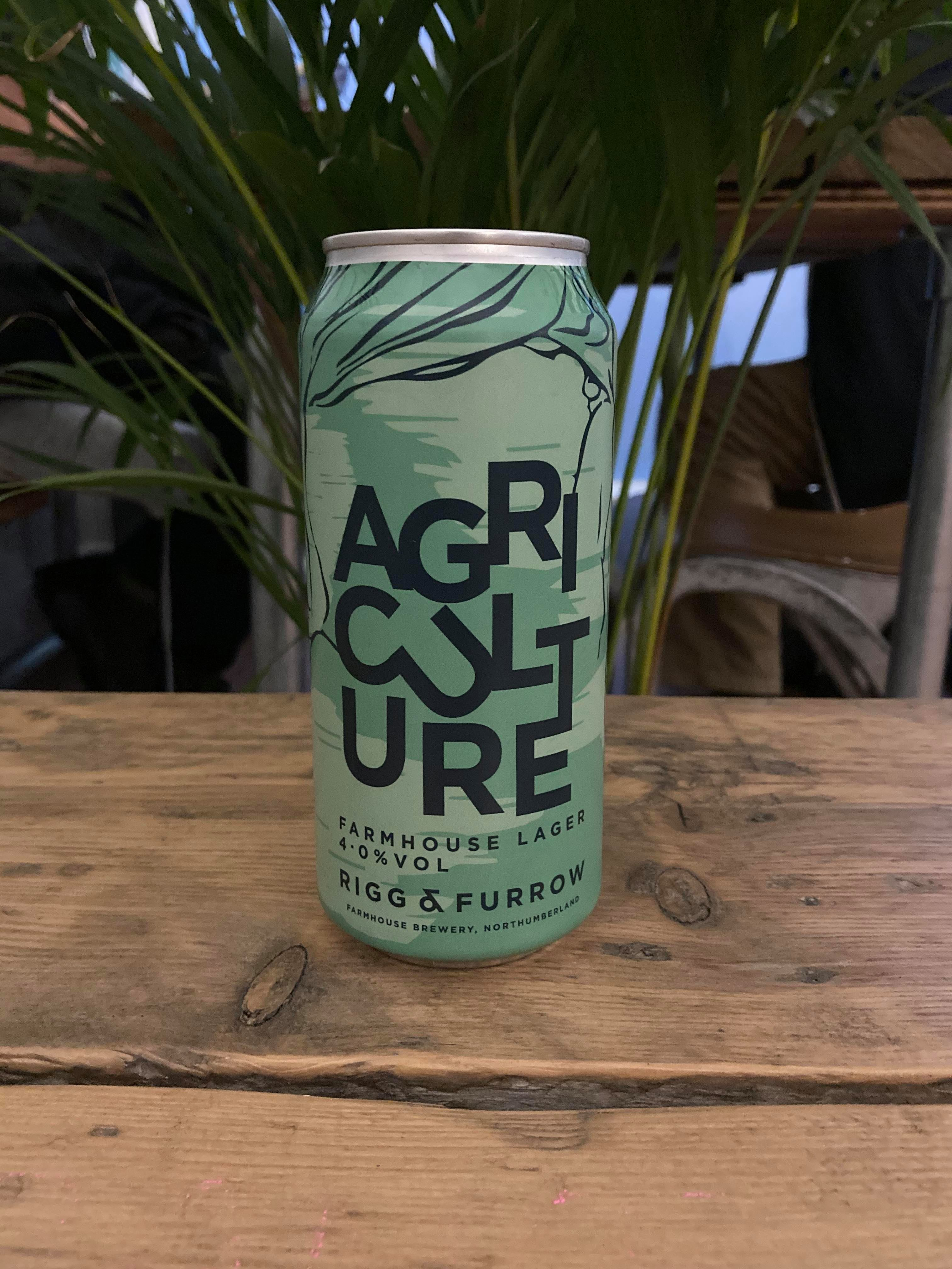 Rigg & Furrow - Agriculture Lager 4%