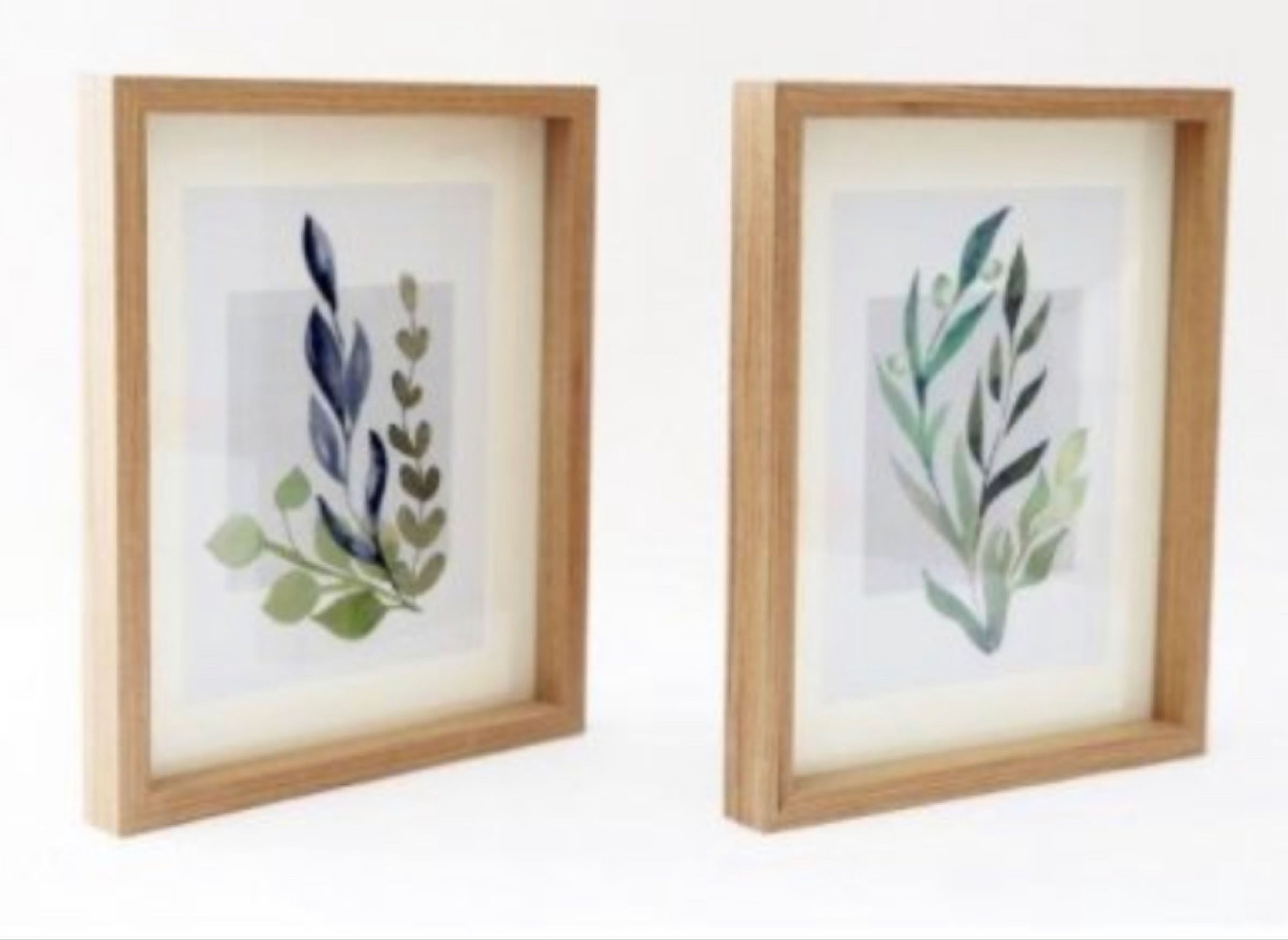 Framed Olive Print 24cm (2 designs available, price is per picture)
